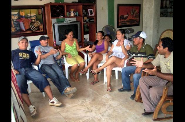 Líderes de 3 barrios de Turbana se reunieron para analizar los problemas que aqu