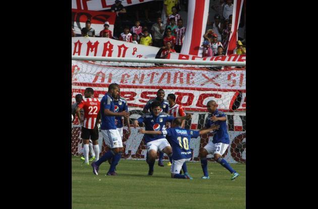 Millonarios derrotó 3-1 Atlético Junior