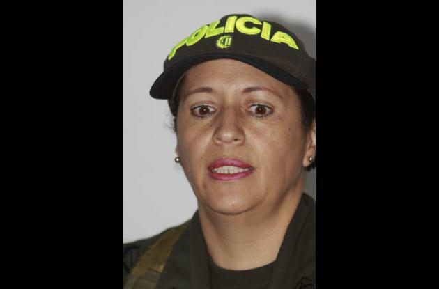 Lilia Amparo Garzón López , coronel de la Policía de Cartagena.