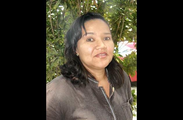 Liliana Santoya, gerente del Hospital de Turbaco.
