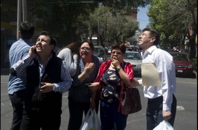 terremoto sismo en mexico