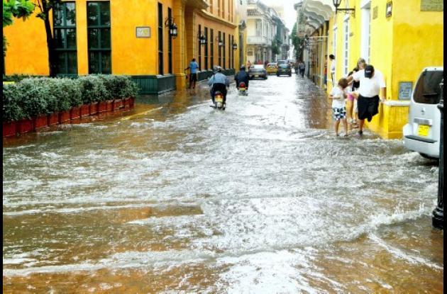 Volvió a llover en Cartagena