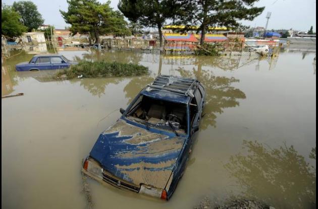 inundaciones en rusia por fuertes lluvias