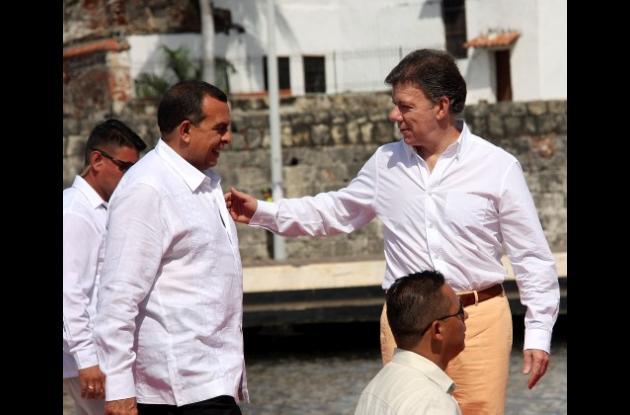 El presidente Porfirio Lobo regresa hoy a Cartagena de Indias.