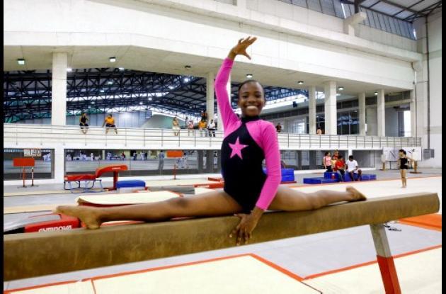 Katerine Logreira, gimnasta de Bolívar.