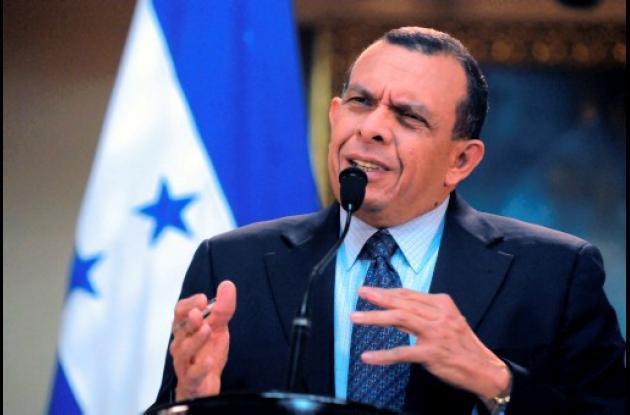 presidente hondureño, Porfirio Lobo,