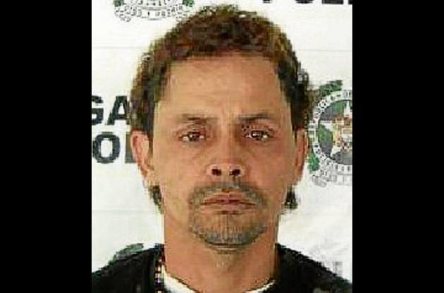 Edinson Noe López Vergara, capturado.
