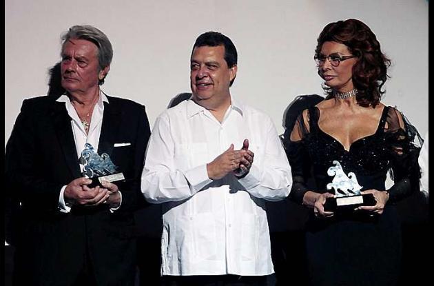 Los dos actores recibieron el premio 'Acuérdate de Acapulco'