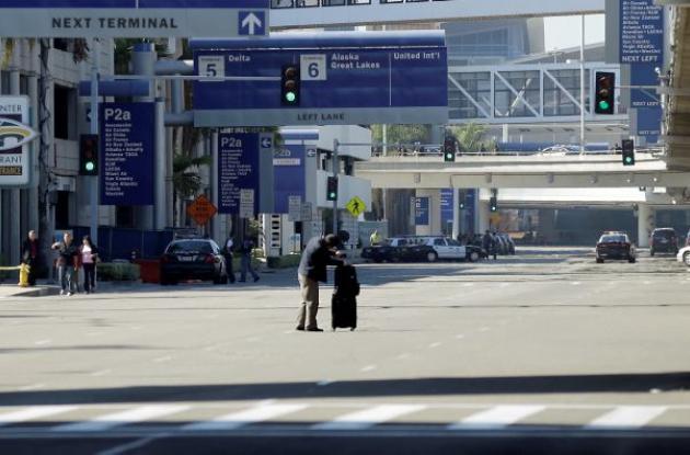 aeropuerto de Los Angeles tiroteo