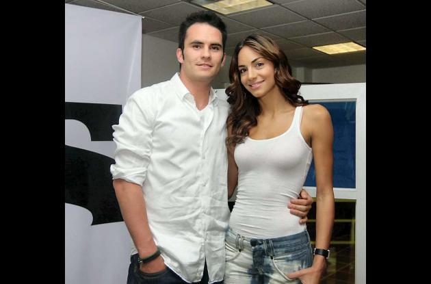 Valerie Domínguez y Juan Pablo Raba