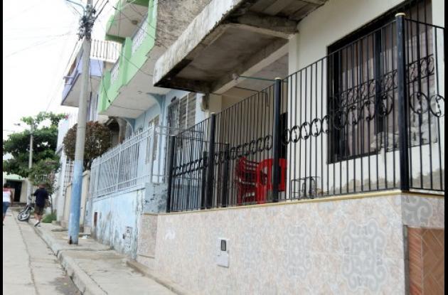 Casa en el barrio Los Cerros