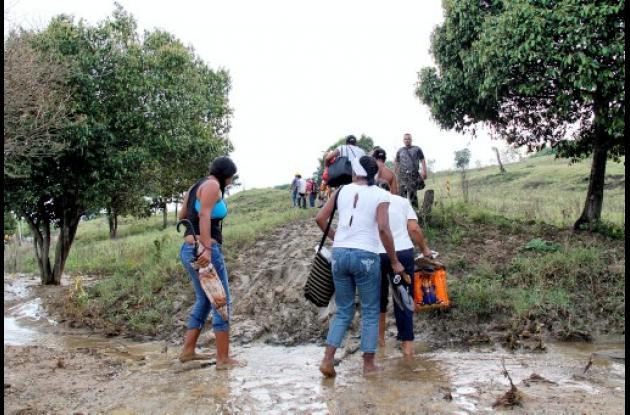 Los Piñones, corregimiento de Mompox, Bolívar.