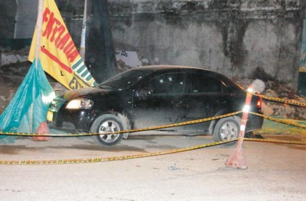 El crimen ocurrió el miércoles de esta semana a las 9:30 de la noche, en la Aven