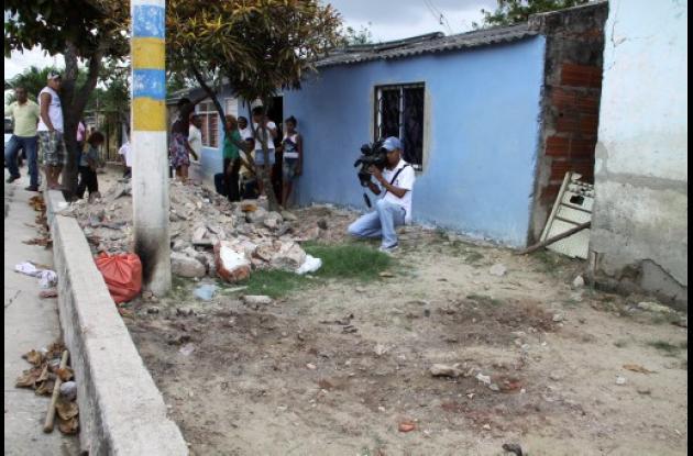 La comunidad de un barrio de Barranquilla reacciona ante el sicariato.
