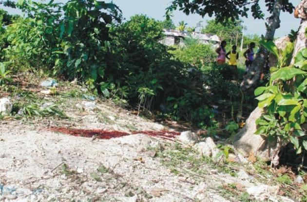 El crimen ocurrió en la madrugada de ayer, en el barrio El Paraíso, del corregim