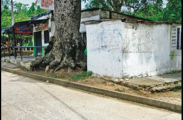 Las dos víctimas se encontraban conversando en esta esquina del sector La Bonga,