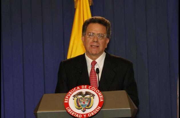 El excomisionado de Paz, Luis Carlos Restrepo.
