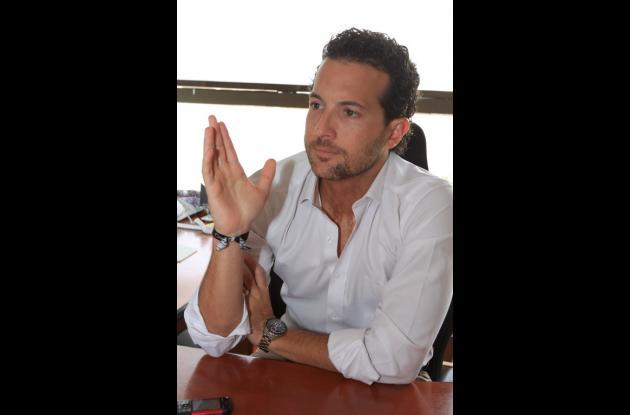 Luis Ernesto Araújo, director ejecutivo de Corpoturismo.