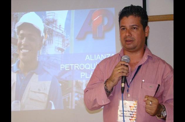 Luis Felipe Perilla, de Petroquímica.