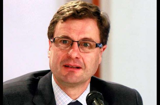 Luis Fernando Andrade, presidente de la Agencia Nacional de Infraestructura.