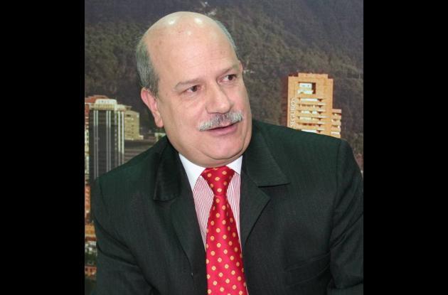 Luis Fernando Rosas Londoño, director del IDT de Bogotá.