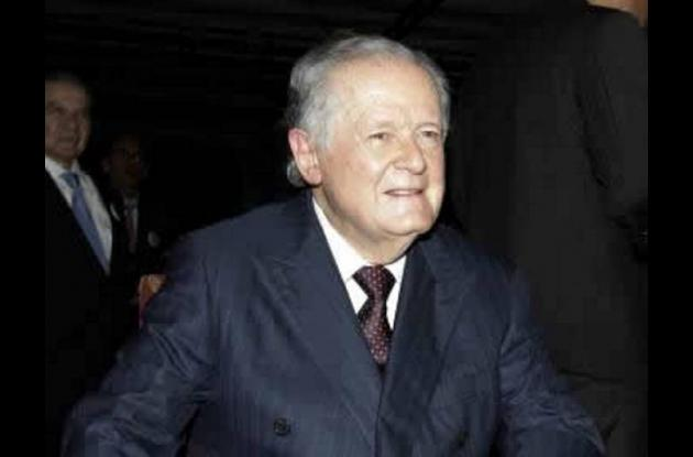El empresario colombiano Luis Carlos Sarmiento Angulo.