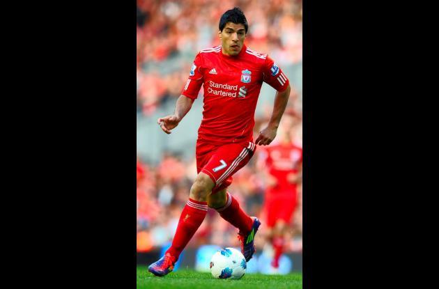 Luis Suárez, jugador del Liverpool.