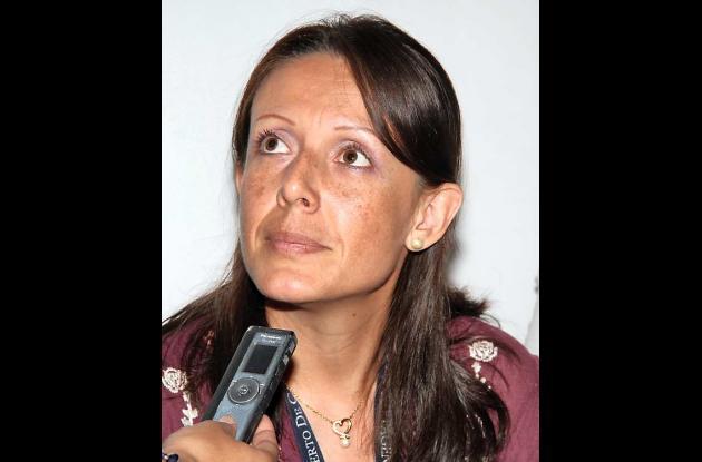 Luisa Fernanda Hernadez Villamizar, coordinadora de selección
