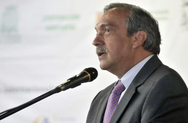 Luis Alfredo Ramos, gobernador de Antioquia.