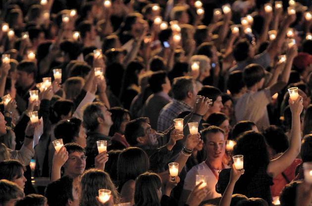 La virgen de Luján en Argentina es venerada por los creyentes