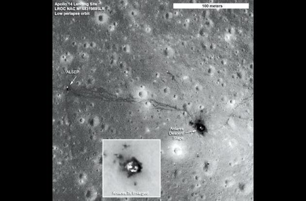 I mágenes de la Luna transmitidas por la sonda Lunar Reconnaissance Orbiter (LRO