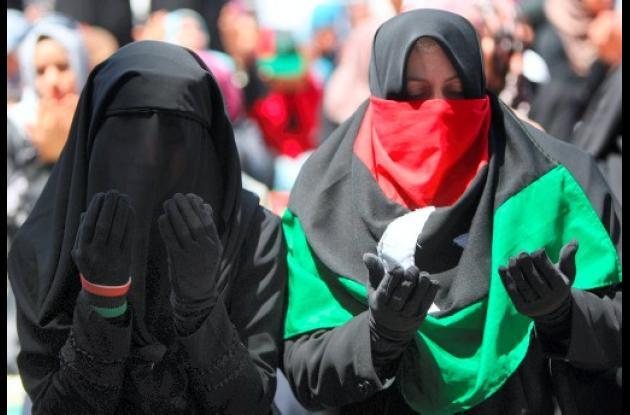 mujeres libia