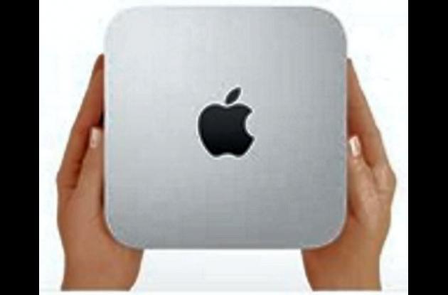 La  Mac Mini encarna el concepto de portabilidad.