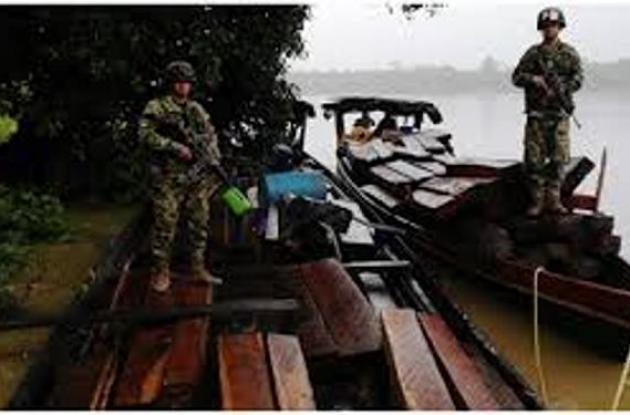 Decomisan madera de contrabando en Córdoba