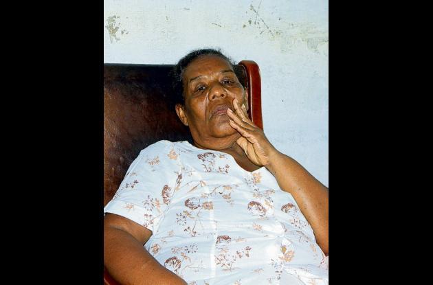 María Correa Monsalve, madre de Cristian, dice que esperará sentada en la sala d