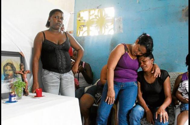 En casa de la víctima, en el sector Nuevo Porvenir de Olaya, hay dolor y descons
