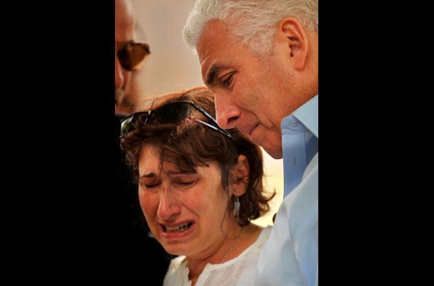 Los padres de Amy Winehouse lloran la muerte de su hija.