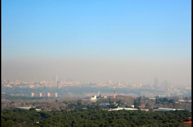Fiscalía exige a Madrid bajar contaminación ambiental.