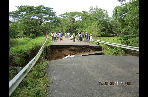 Puente Pitica, en Mahates.