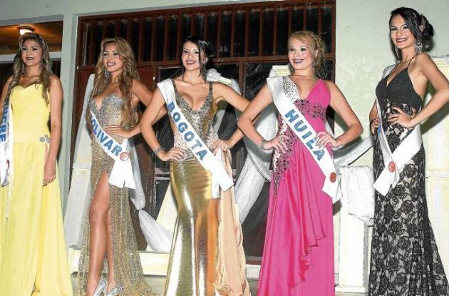 Finalistas al concurso Maja Colombia en Corozal