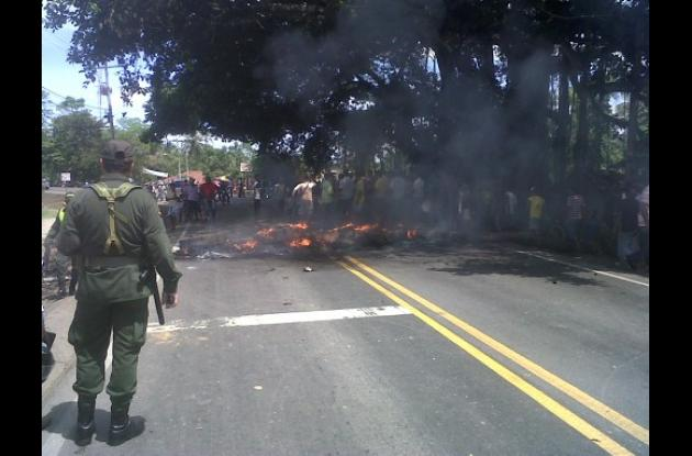 Disturbios en Malagana