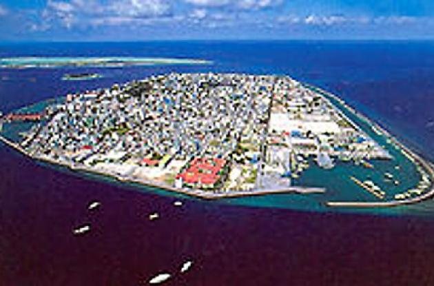 Las Islas Maldivas son una víctima del mar y del calentamiento globla,