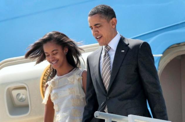 El presidente Obama nunca ha disimulado el orgullo de ser padre.