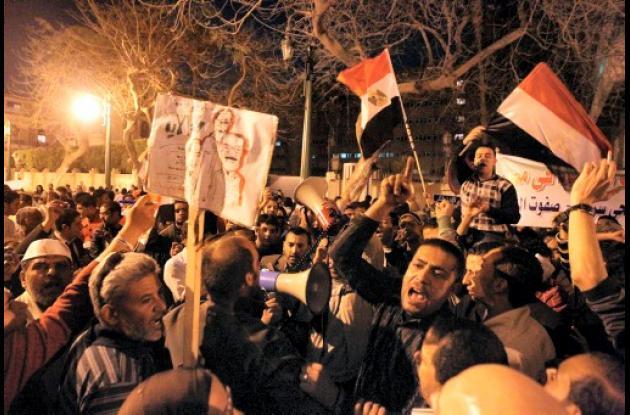 Manifestaciones en Egipto.