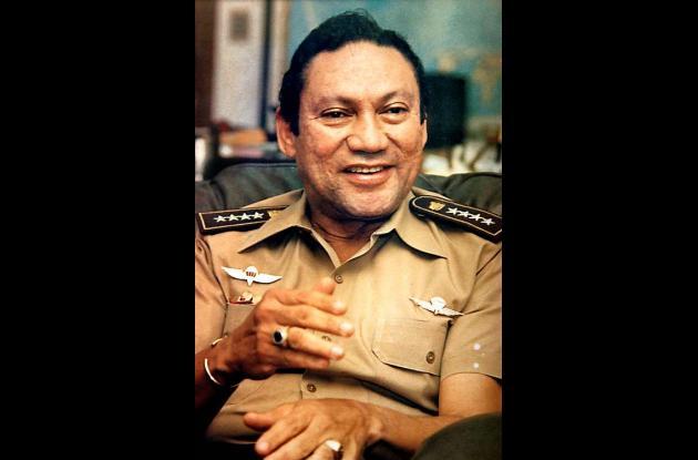 El ex dictador Manuel Antonio Noriega.