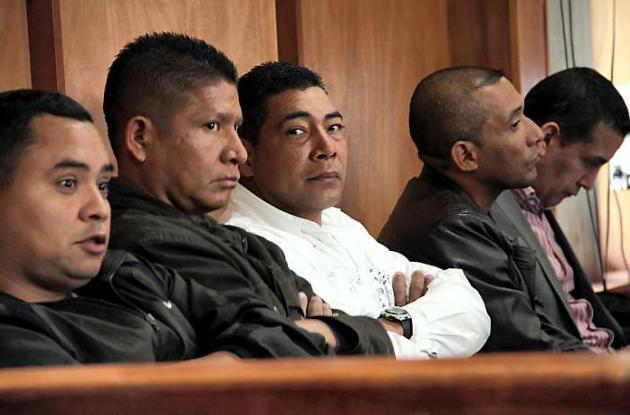 Paramilitares involucrados en la masacre de Mapiripán
