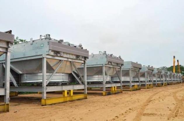 Siguen llegando a Cartagena maquinaria para lo que será la nueva refinería.