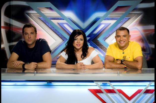 Jose Gaviria, Marbelle y Juan Carlos Coronel, jurados del Factor XS.