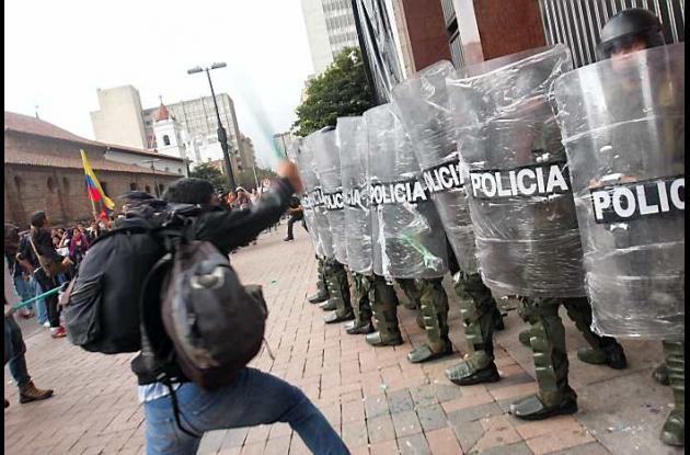 Marcha estudiantes colombia