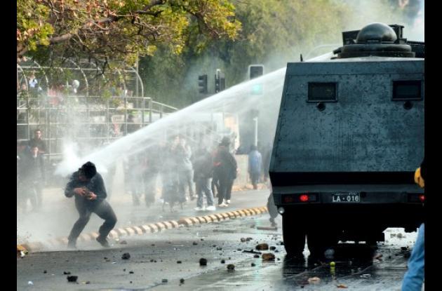 protesta estudiantil en Chile